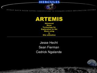 ARTEMIS Advanced  Rover  Technology for Exploration on the Moon using  In Situ utilization
