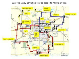 Bass Pro-Mercy-Springbike Tour de Bass 100-70-38 & 24 mile