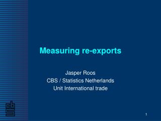 Measuring re-exports
