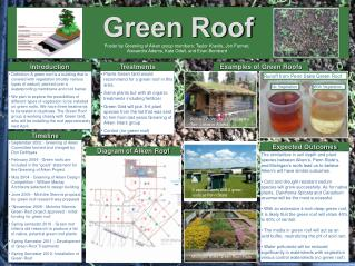 Ppt green roof technology powerpoint presentation id Examples of green technology