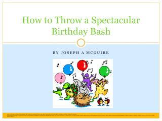 How to Throw a Spectacular Birthday Bash