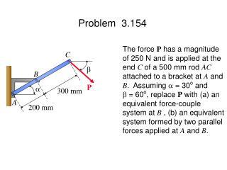 Problem  3.154