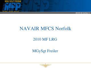 NAVAIR MFCS Norfolk