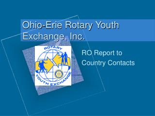 Ohio-Erie Rotary Youth Exchange, Inc.