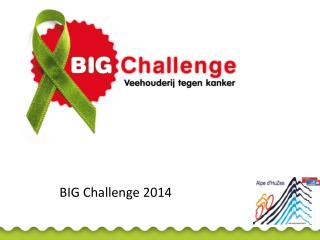 BIG Challenge 2014