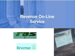 Revenue On-Line Service