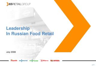 Marketing and retailing food