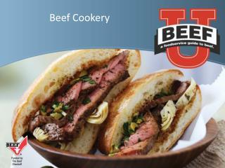 Beef Cookery