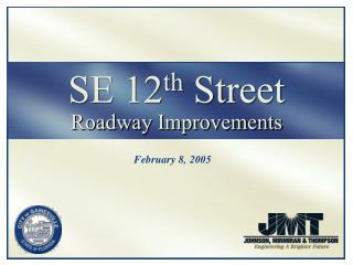 SE 12 th  Street