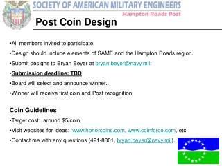 Post Coin Design