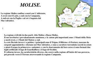 MOLISE.