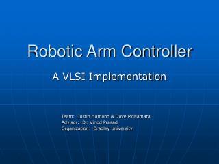 Robotic Arm Controller