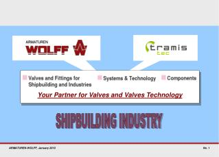 Your Partner for Valves and Valves Technology