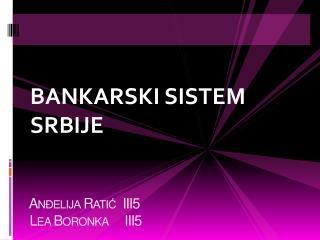 A nđelija Ratić  III5   Lea Boronka     III5