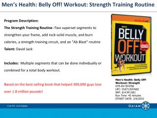 Men�s Health: Belly Off! Workout: Strength Training Routine