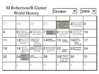 M Robertson/B Gunter World History