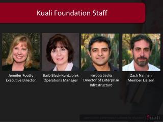 Kuali Foundation Staff
