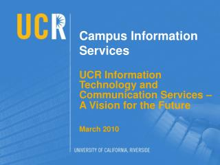 Campus Information Services