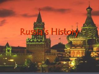 Russia's History