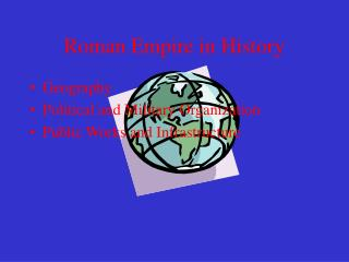 Roman Empire in History