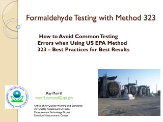 Formaldehyde Testing with Method 323