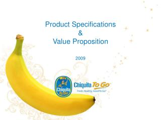 Product Specifications & Value Proposition