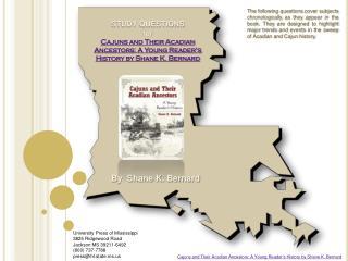 University Press of Mississippi 3825 Ridgewood Road Jackson MS 39211-6492 800 737-7788 pressihl.state.ms