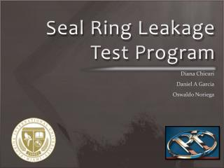 Seal Ring Leakage Test Program