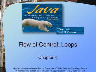 Flow of Control: Loops