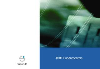 ROM Fundamentals