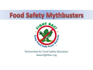 Partnership for Food Safety Education fightbac