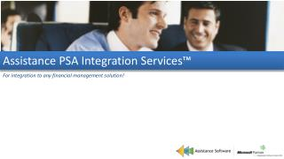 Assistance  PSA Integration  Services™