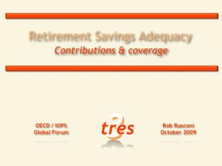 Retirement Savings Adequacy