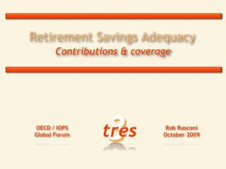 Retirement Savings Adequacy