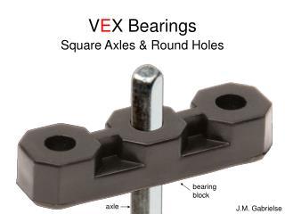 V E X Bearings