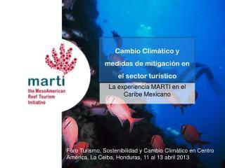 Cambio Climático y medidas de mitigación en el sector turístico