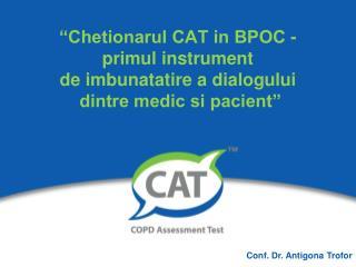 Conf. Dr.  Antigona Trofor