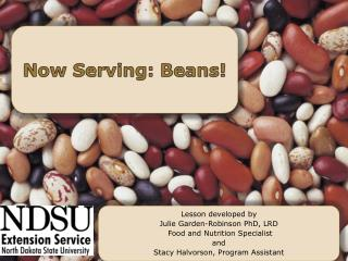 Now Serving: Beans!