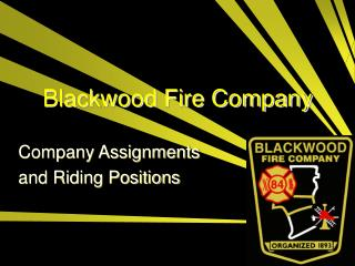 Blackwood Fire Company