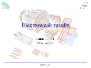Electroweak results