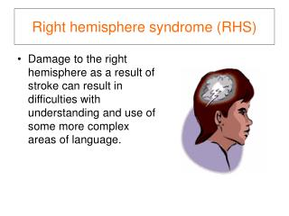 Right hemisphere syndrome (RHS)