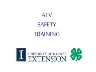 ATV SAFETY TRAINING