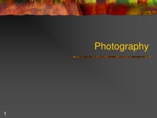 Photography history