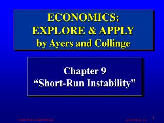 "Chapter 9 ""Short-Run Instability"""