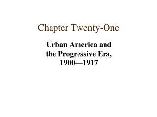 Chapter Twenty-One