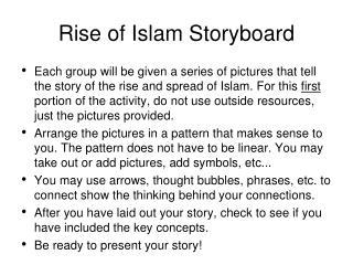 Rise of Islam Storyboard