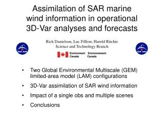 Assimilation of SAR marine wind information in operational 3D-Var analyses and forecasts