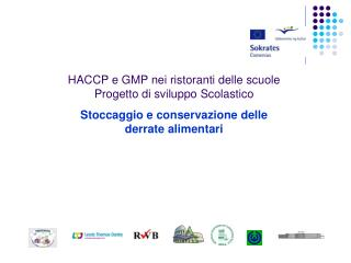 HACCP e GMP nei ristoranti delle scuole  Progetto di sviluppo Scolastico
