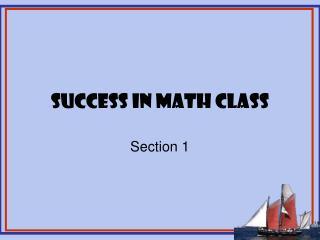 Success in Math Class