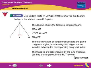 "One student wrote ""    CPA MPA  by SAS"" for the diagram below. Is the student correct? Explain."